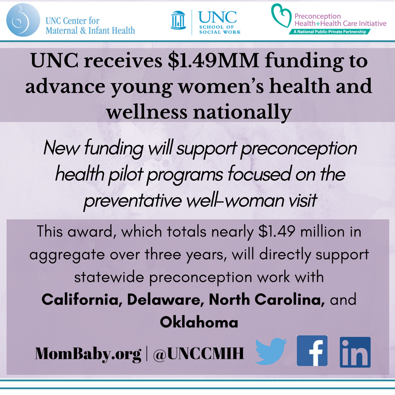 About HRSA MCHB Preconception Infant Mortality CoIIN